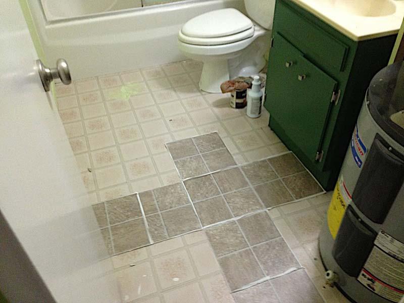 bathroom tile flooring tips