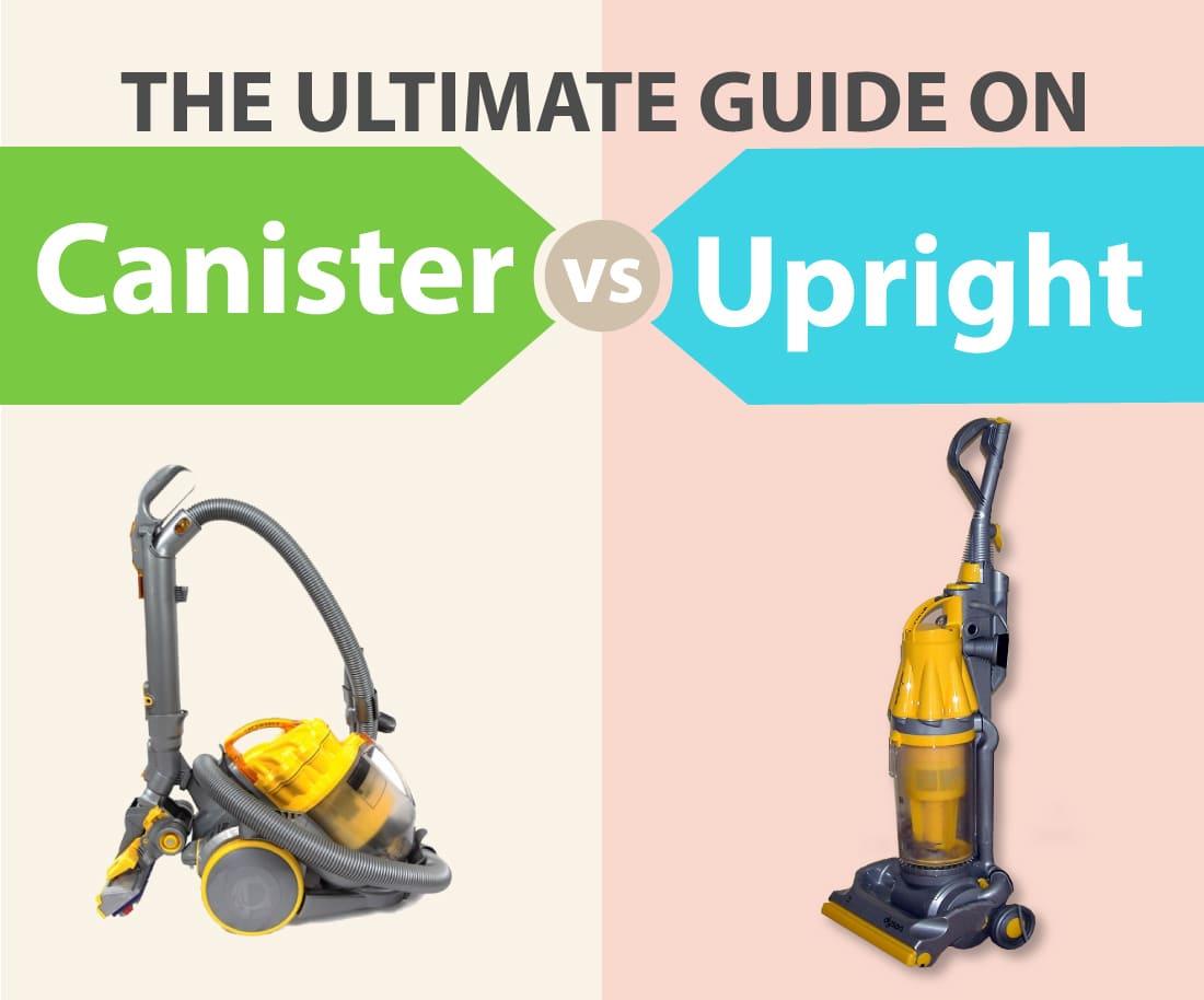 canister vs upright